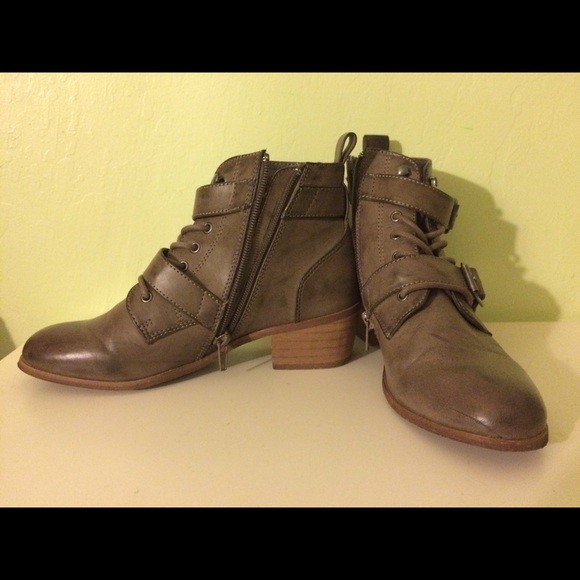 64% Off Forever 21 Shoes - F21 Booties From Gemmau0026#39;s Closet On Poshmark