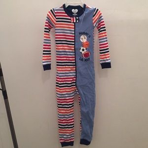 The childrens place Other - Boys zip up pajamas