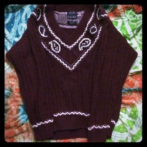 Old glory Outerwear - V-neck sweater!