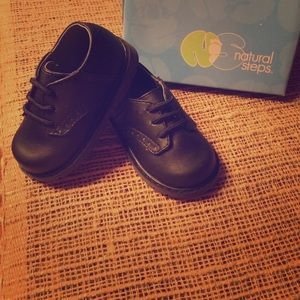 Natural Steps Other - Natural Steps toddler size 4 clay black shoe