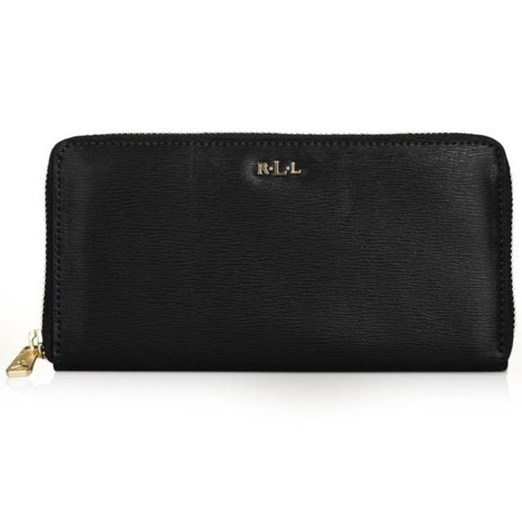 neue angebote Top Qualität USA billig verkaufen LOOKING FOR - Ralph Lauren Tate Zip Wallet