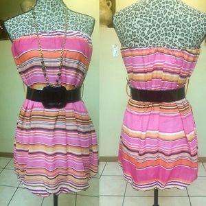 Dresses & Skirts - Must be BUNDLED Pink Stripes dress Blouse Dress