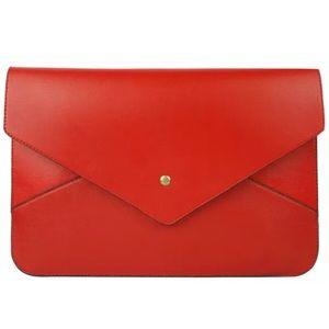 Handbags - STUNNING RED CLUTCH