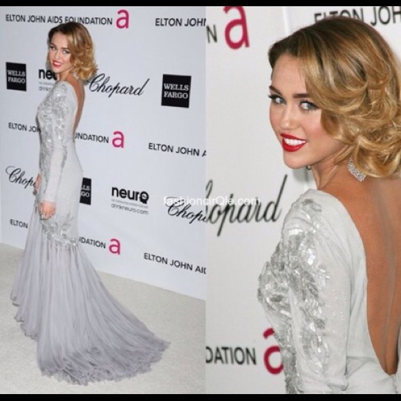 Prom dress Dresses | Miley Cyrus Gown Copy | Poshmark