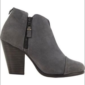 NIB rag and bone Margot Suede Ankle Booties 37