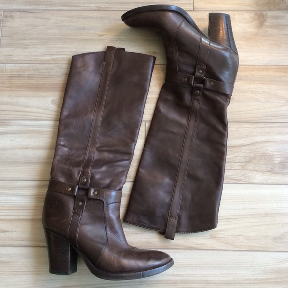 90 via spiga boots reduced via spiga brown heel