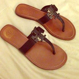 6f0845861f8 ... shopping tory burch shoes tory burch moore flat thong sandal 1d5a9 b9f49