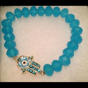 Jewelry - 💙Hamsa Stretch Bracelet💙