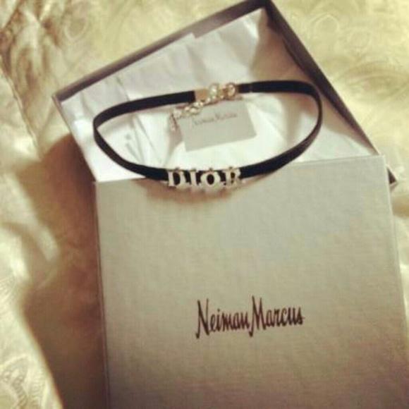 424f497e9577e Christian Dior Choker Necklace