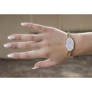 Tanya Kara Jewelry - Corinthians 13:4 Love Bracelet