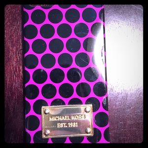 Michael Kors iPhone 5/5s case.