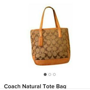 Coach Minature Tote
