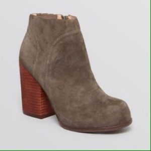 COMING SOON! JEFFREY CAMPBELL NEW gray booties 8.5