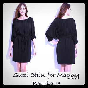 Suzi Chin for Maggy Boutique cocktail dress