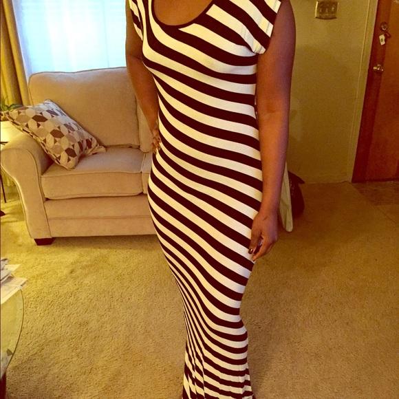 Arden b black maxi dress