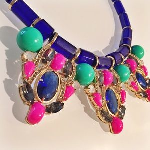 J. Crew Jewelry - J. Crew Crystal Statement Necklace