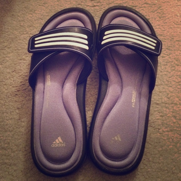 211445bd2 Adidas Shoes - Womens Adidas Fit Foam Sandals size 8!