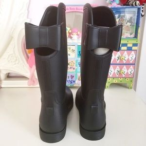 Rain Boots With Bow On Back - Cr Boot