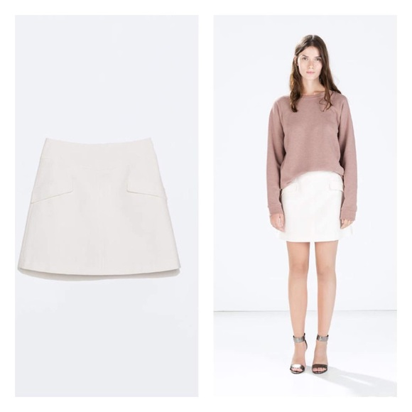 4ffedfb4f1bc Zara A line skirt