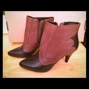 Reba Boots - Brand new boots, leather upper