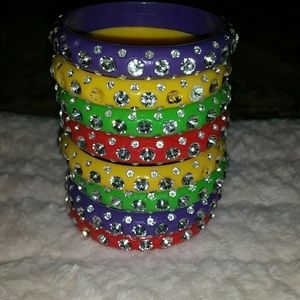 As seen on TLC acrylic bangles