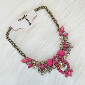 New Pink Crystal Necklace!
