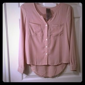 Tops - Rose button up