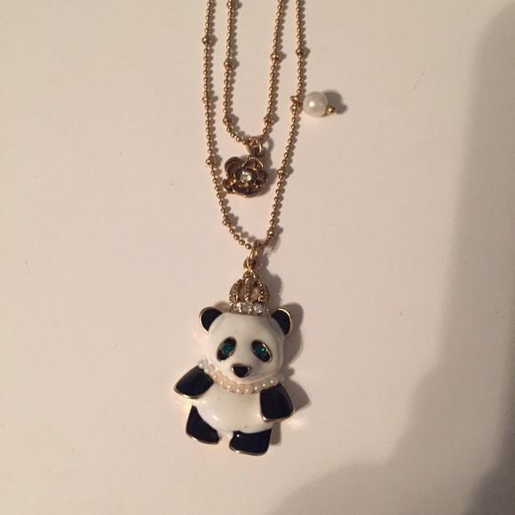 92 betsey johnson jewelry betsey johnson panda