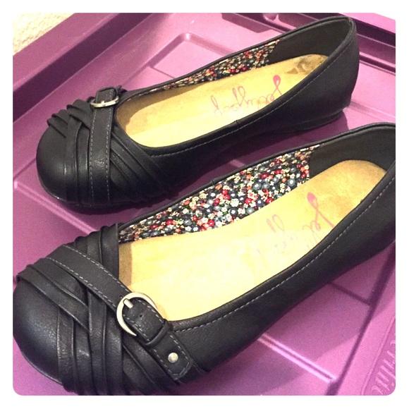 Jellypop Shoes | Jellypop Black Flats