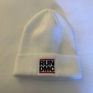 Run DMC knit hat from H&M