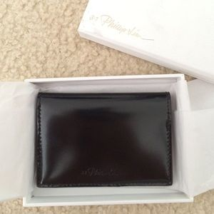3.1 Philip Lim black card case wallet