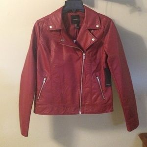 Red Moto jacket