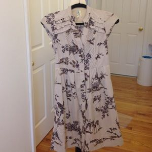 Anthropologie southward stop shirtdress
