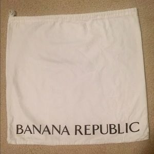 Banana Republic dust bag