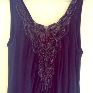 Lux Dresses - Lux black sequin mini dress from Urban Outfitters