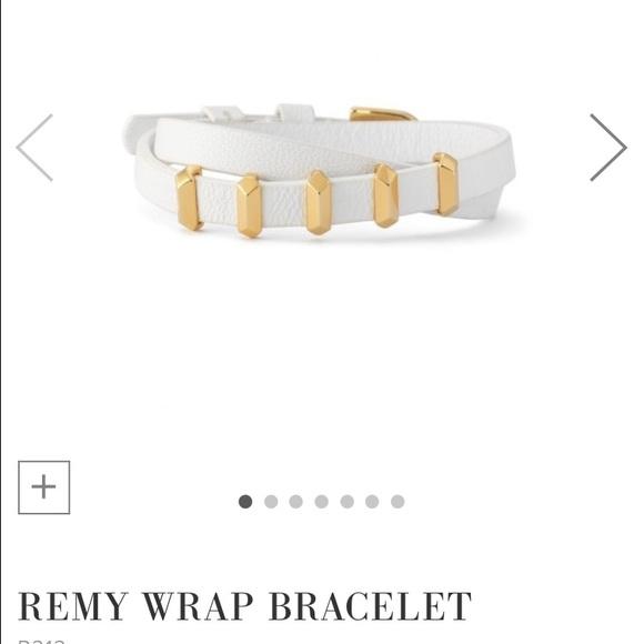New! White Stella /& Dot Remy Double Wrap Bracelet
