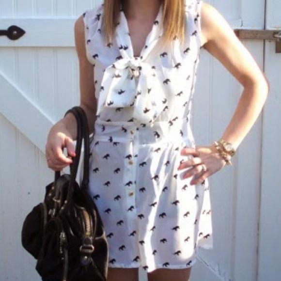 Dresses & Skirts - Elephant Print Romper
