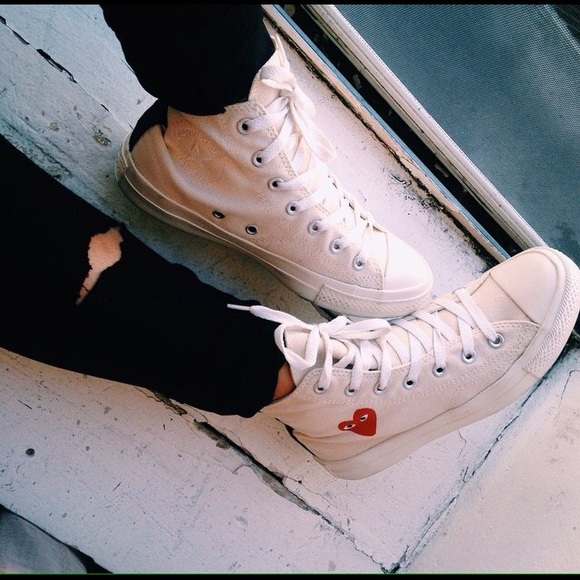 cdg converse fit