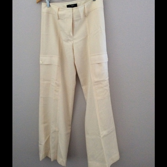 91% off Express Pants - Winter White Lined Pants from Carla's ...