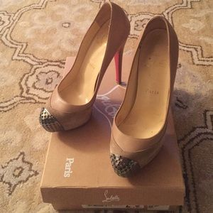 Authentic Christian Louboutin size 36.5