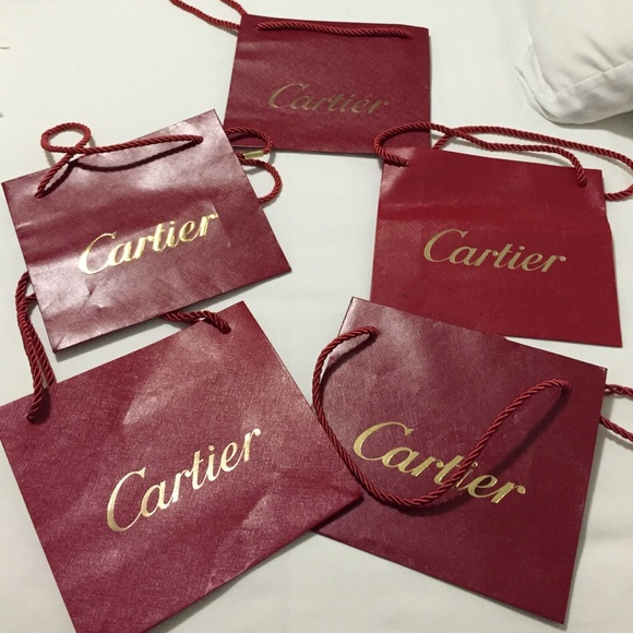 80% off Cartier Jewelry - 💖For sale💖 2 Cartier shopping bags ...
