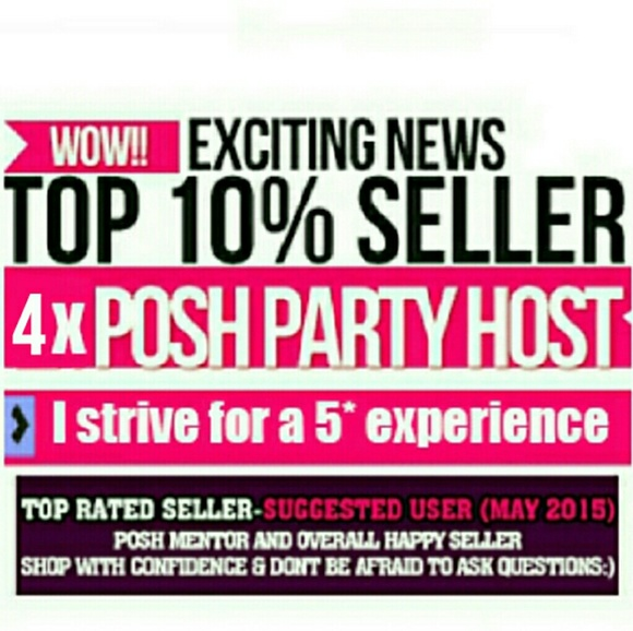 Other - SUGGESTED USER! Top 10 perc Sell Party Host Mentor