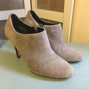 Cole Haan Grey Suede with Nike Air Bootie