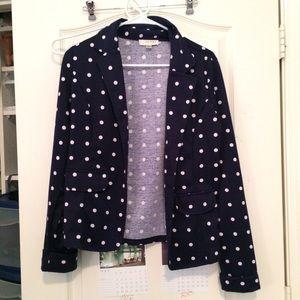 Kenar Jackets & Blazers - Casual, preppy polka dotted blazer