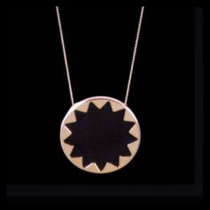 House of Harlow Sunburst necklace