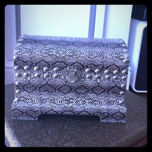 Other - Snakeskin Design Print Jewelry Box