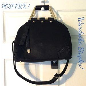 HOST PICK!  Black Vegan Leather Purse Handbag
