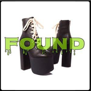 ISO UNIF Salem Boots
