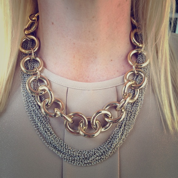 J Crew Jewelry Sale Classic Goldplated Chain Link Necklace Poshmark