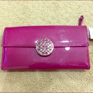 HP! New Coach Alexandria Slim Envelope Wallet